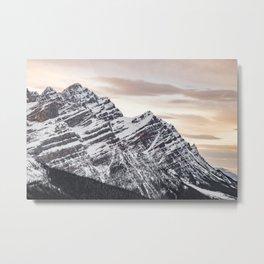 Mountains at Sunset Metal Print