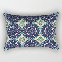 Abstract geometric retro seamless pattern Rectangular Pillow