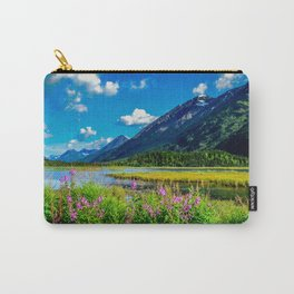God's Country - Summer in Alaska Carry-All Pouch