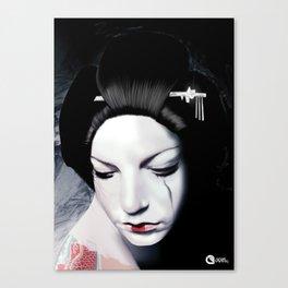 Geisha Tears Canvas Print