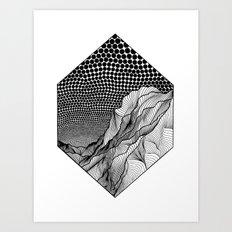 The Way Down Art Print