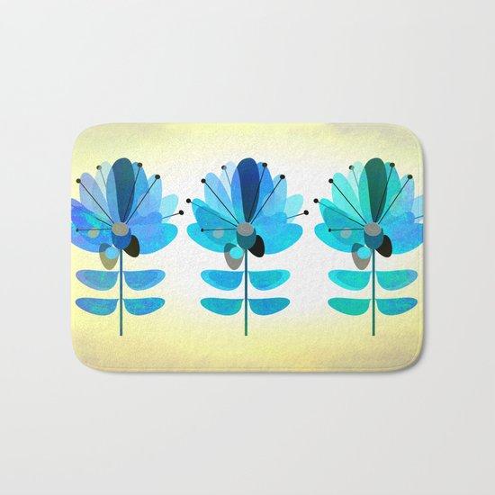 Die Blaue Blume Bath Mat