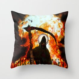End of Dayz Throw Pillow