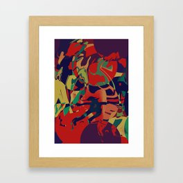 """Otets""(God of rituals) Framed Art Print"