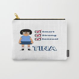 TINA- Smart, Strong, Sensual Carry-All Pouch