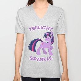 MLP FiM: Twilight Sparkle Unisex V-Neck