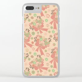 Floral bouquet. Clear iPhone Case