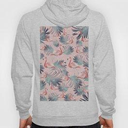 Blush Flamingo Palm Vibes #2 #pastel #tropical #decor #art #society6 Hoody