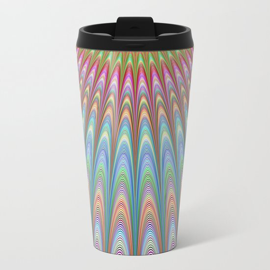 Heavenly sky Metal Travel Mug