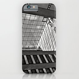 Modern Hamburg office building iPhone Case