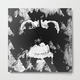 GNARLY FACE Metal Print