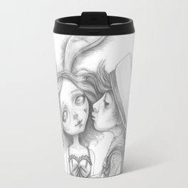 Little Bunny Girl Travel Mug