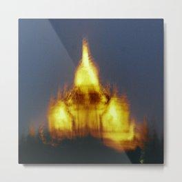 fire temple bagan Metal Print