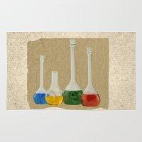 lab Area & Throw Rugs featuring Lab by Nikolay Raikov