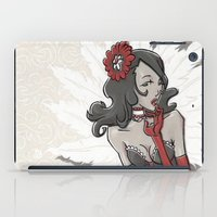 """burlesque iPad Cases featuring BURLESQUE by """"dfrnt"""""""