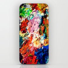 Palette iPhone & iPod Skin