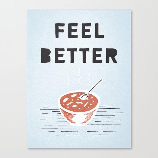 Get Better Canvas Print