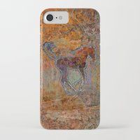 pony iPhone & iPod Cases featuring Pony by evisionarts