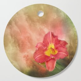 Beautiful day lily Cutting Board