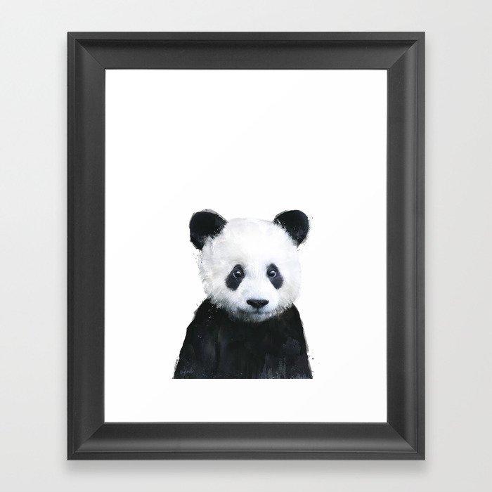 Little Panda Gerahmter Kunstdruck