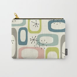 Mid Century Modern Shapes #society6 #buyart Carry-All Pouch