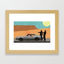 Grooming The Crime Scene - Better Call Saul Framed Art Print