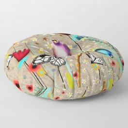 Rupydetequila - Bohemian Paradise Floor Pillow