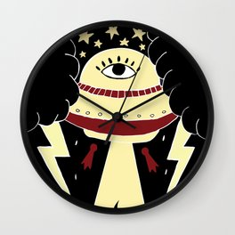UFO teleporting all lighters Wall Clock