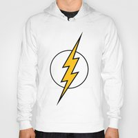 flash Hoodies featuring Flash by Bastien13