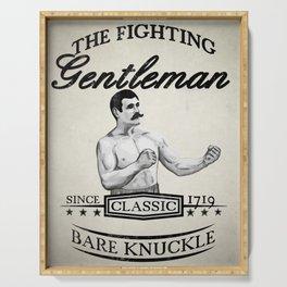 The Fighting Gentlemen Serving Tray