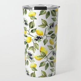 Lemon Garden Travel Mug