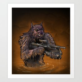 The Vengeful One Art Print