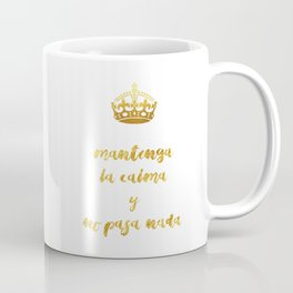 Mantenga La Calma | Keep Calm and Carry On Coffee Mug