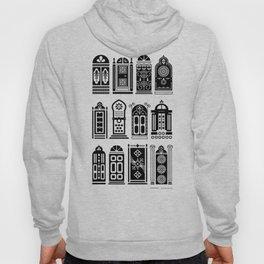 Moroccan Doors – Black Palette Hoody