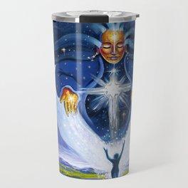 Pleiadian Star Goddess Travel Mug