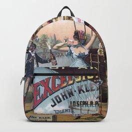 Excelsior Ginger Ale vintage kitsch poster art Backpack