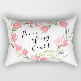Piece of my heart Rectangular Pillow