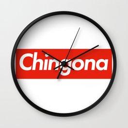 Chingona Suprema Wall Clock