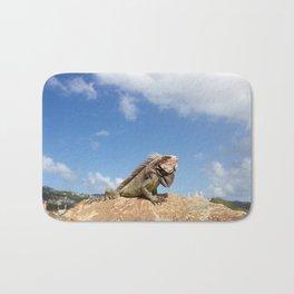 Iguana Bath Mat
