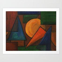 Interlocution I Art Print
