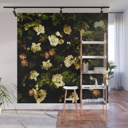 Floral Night I Wall Mural