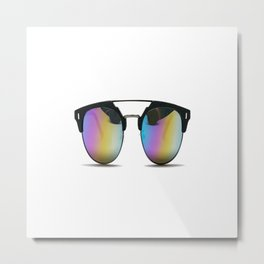 Sunglasses shades eyewear Metal Print