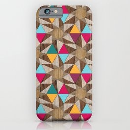 Modern Marquetry (Color 2) iPhone Case