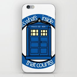 Its What's Inside What Counts iPhone Skin