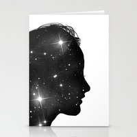 sister Stationery Cards featuring Star Sister by Beyond Infinite