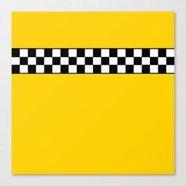 NY Taxi Cab Cosplay Canvas Print