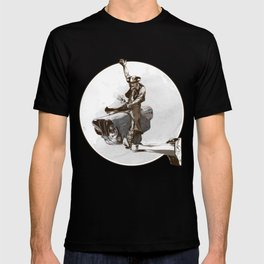 Media Rodeo: Big Brother is watching you T-shirt