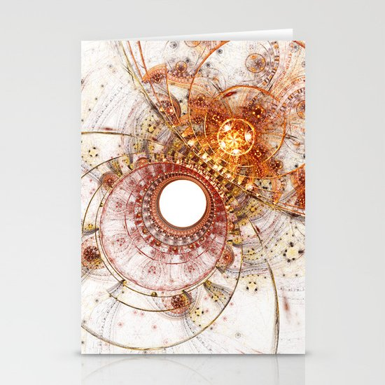 Fiery Temperament Stationery Cards