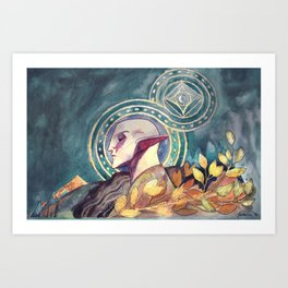 Solas Art Print