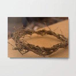 the crown of thorns Metal Print